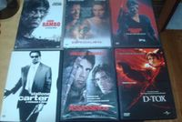 11 dvds Sylvester stallone,assassinos,d-tox ,cobra,homem demolidor etc