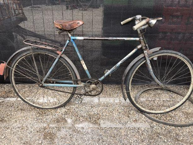 Stary zabytkowy niemiecki rower męski Chromy przedwojenny