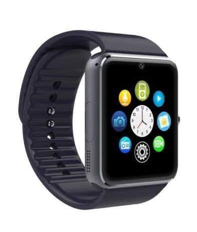 Smartwatch GT-08 com slot para cartão GSM e memoria
