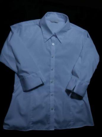 Marks & Spencer Белая рубашка блузка на девочку 34/XS/42
