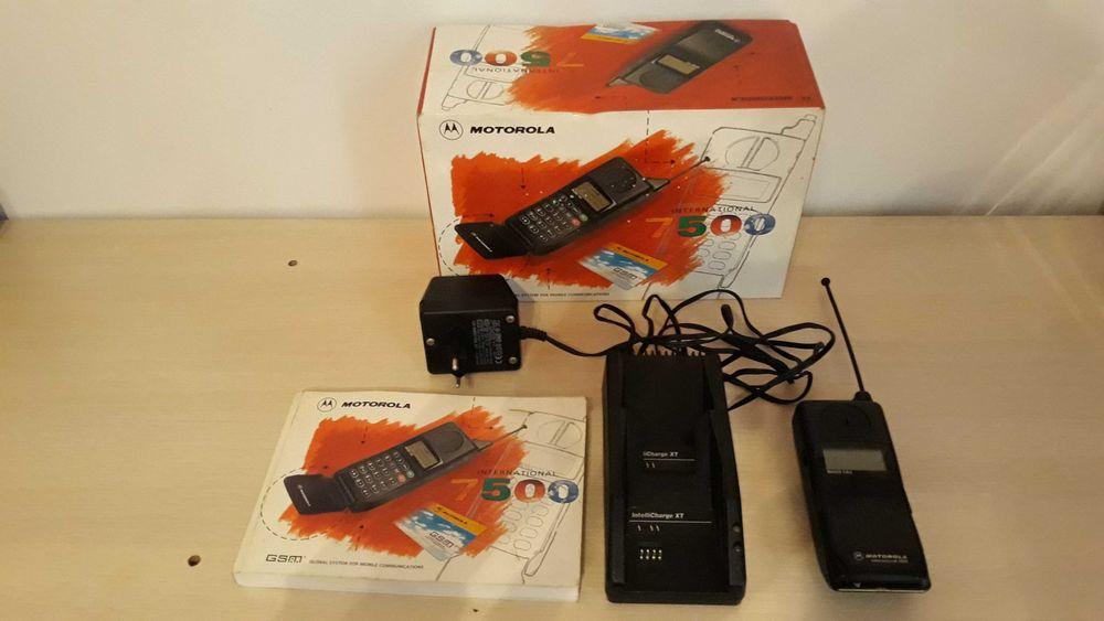 Telefon komórkowy Motorola 7500 Vintage-Zestaw kolekcjonerski Kołobrzeg - image 1