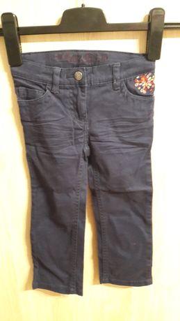 Nowe spodnie lupilu 92 Lidl Jeansy dziewczęce