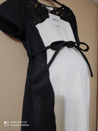 Nowa Sukienka ciążowa na święta/ elegancka r40/L/ xl