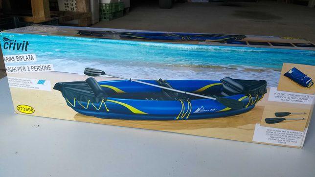 Kayak / canoa insuflável para 2 pessoas novo