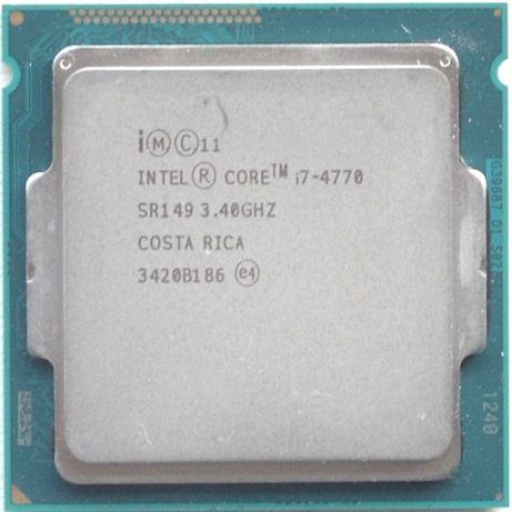 Процессор I7 4770 3.4GHz 8Mb Intel Core 1150 SR149 | Гарантия 1 Год