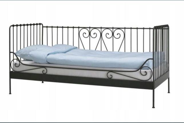 Rama łóżka wraz z materacem IKEA Meldal, łóżko