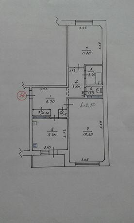 Продаю 2-х комнатную квартиру (Чешка)