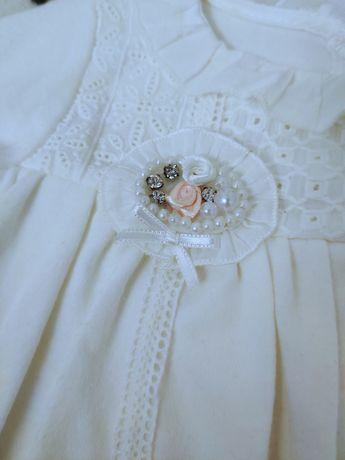 Нарядное Боди-платье для девочки