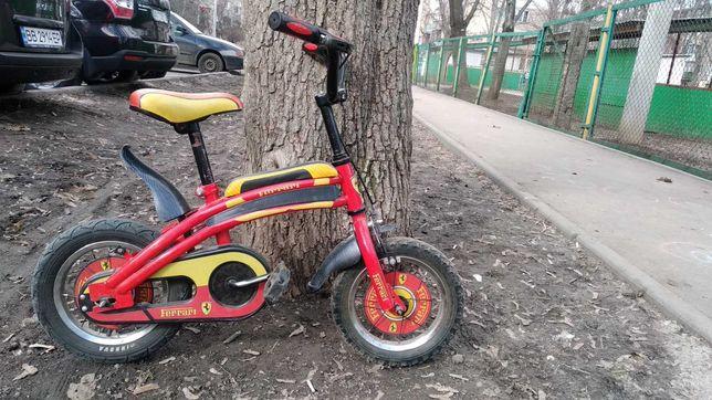 Велосипед 12 дюймов Ferrari