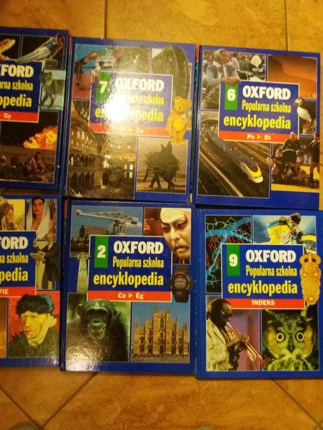 Album encyklopedia Oxford- świat wiedzy- 9 tomów