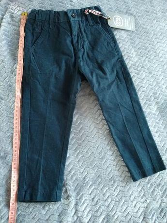NOWE Spodnie wizytowe 92 Smyk Cool Club
