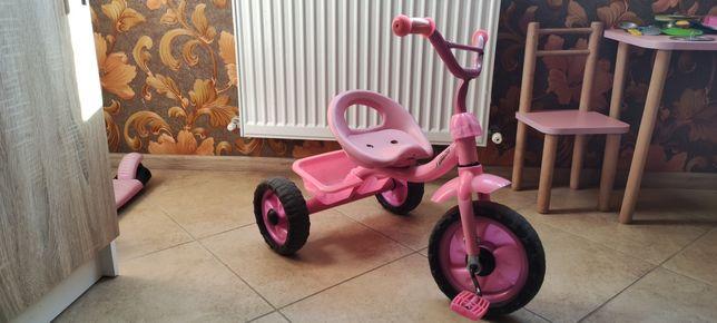 Велосипед трёхколёсный для принцессы