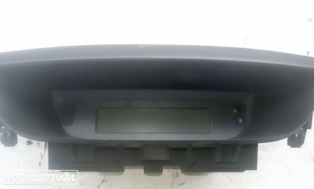 Computador de bordo Renault Mégane Cabrio