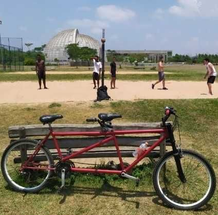 Bicicleta 2 lugares Shimano