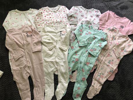 PAKA Pajace piżamki niemowlece 80 SINSAY