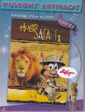 Hugo Safarii 1 Kultowe animacje 22 -DVD