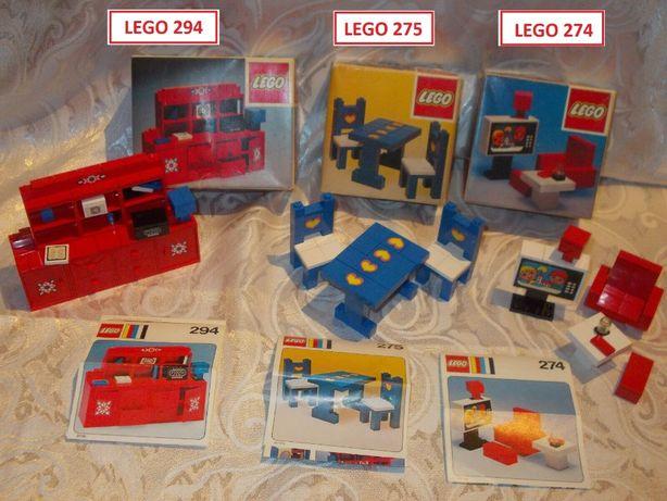 LEGO Homemaker / Furniture - 11 Sets