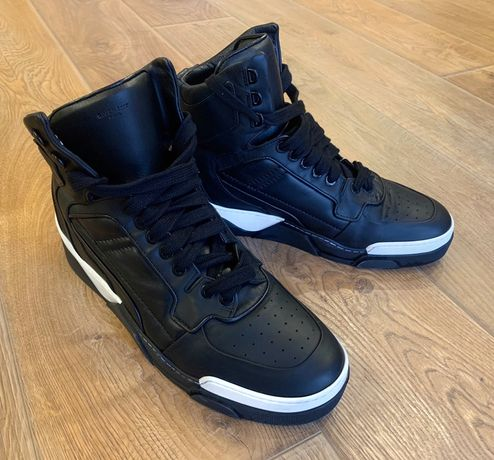 Хайтопы Givenchy Tyson High-Top Sneakers (кроссовки ботинки сникерсы)