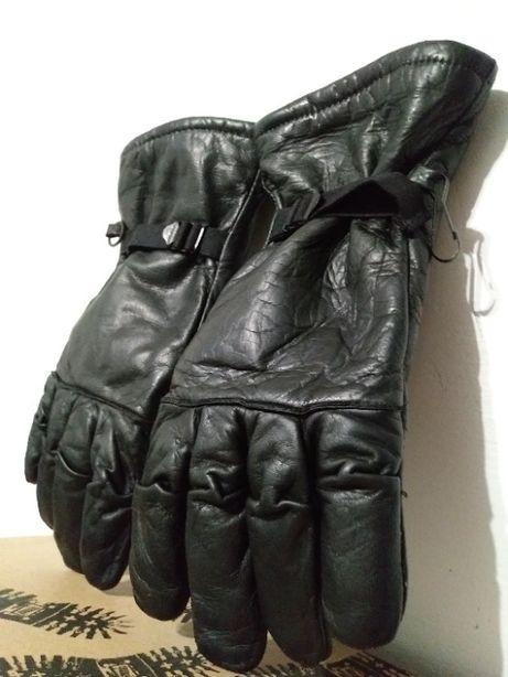 Кожаные перчатки мужские рукавиці мотоперчатки Made in USA