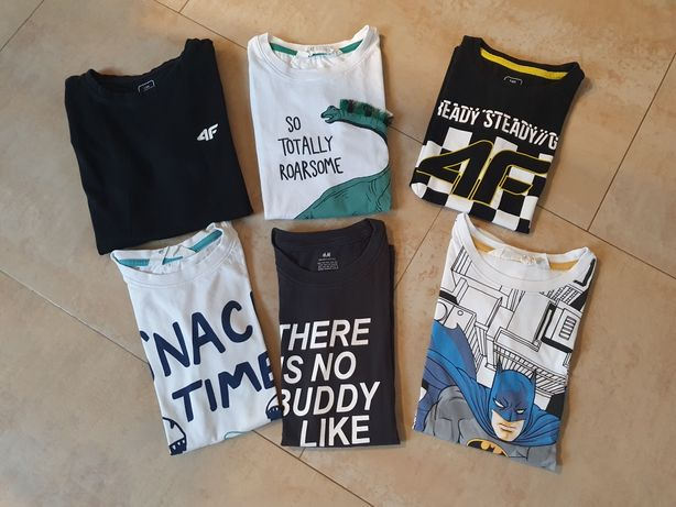 Zestaw koszulek 134-140