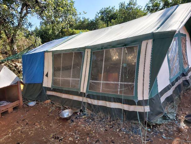 Auto tenda marca Suncamp Holiday 350 SE