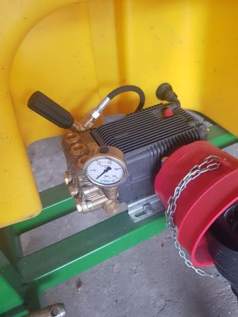 Pompa Włoska A&R wysokociśnieniowa 210 bar kpl. na wałek WOM