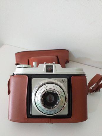 Antiga e rara máquina fotográfica AGFA para decoração e ou coleção