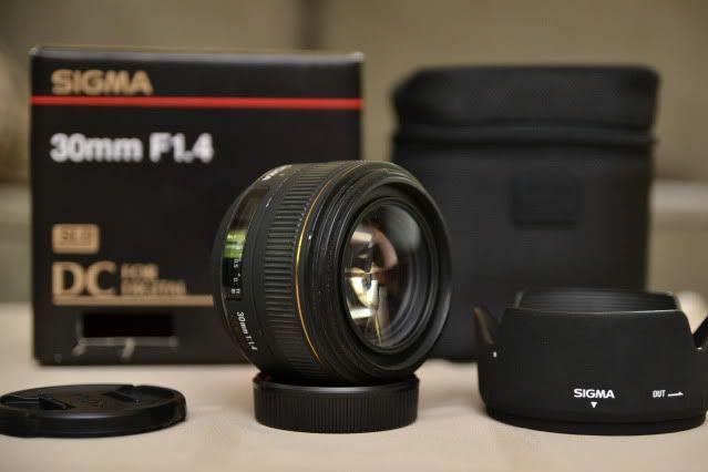 Меняю Sigma 30mm f/1.4 для Nikon на Olympus/Panasonic или Nikon