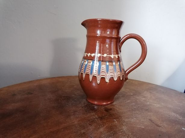 Dzban - ręcznie malowana ceramika (Bułgaria)