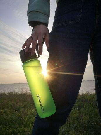 Бутылка для воды UZSPACE Нoвыe цвeтa!Губка для мытья в подарок!