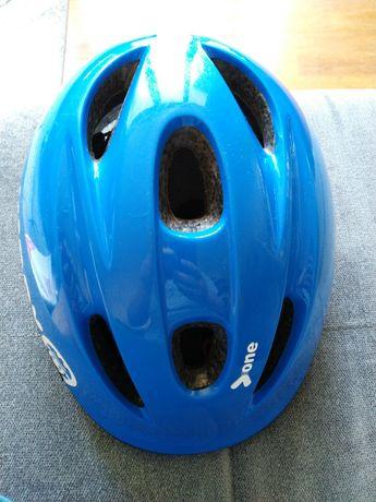 Kask rowerowy dziecięcy Btwin Kiddy 52-56cm