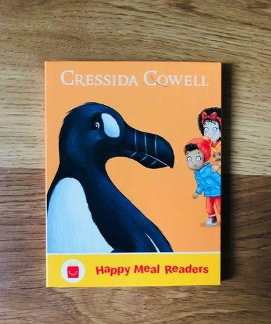 Mcdonalds happy meal zabawka ksiazka dla dzieci ptaki ptak kruk