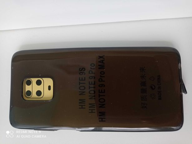 Оригинальный силикон. черный  чехол на телефон Xiaomi Redmi Note 9 Pro