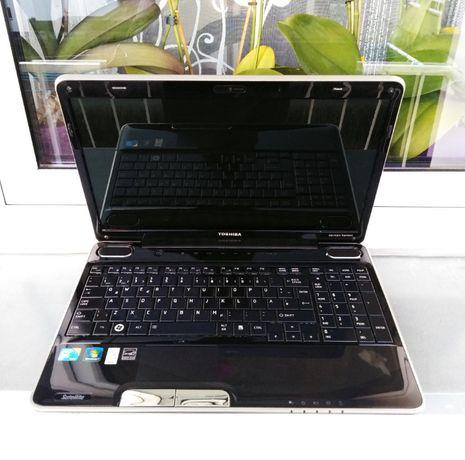Świetny laptop TOSHIBA A500 /16 Cali/ NVIDIA /Szkoła/ Kamera/ ZOBACZ
