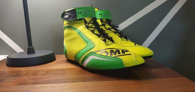 Botas OMP KS-1 43 Amarelo/Verde Novas