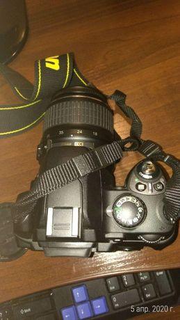 NIKON D40 фотоаппарат