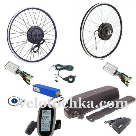 Электронаборы велосипеда. Аккумуляторы. Мотор-колеса.