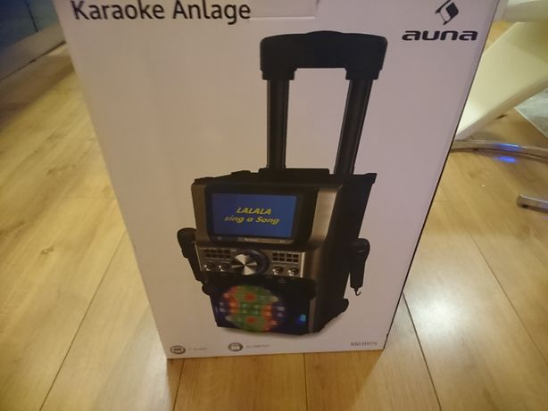 Karaoke zestaw 2 mikrofony