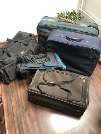 Kufry i walizki podróżne