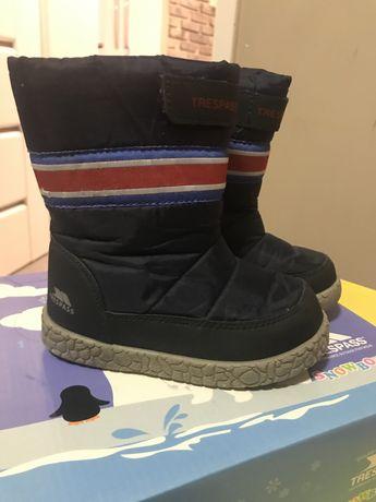Buty zimowe dzieciece rozmiar 25