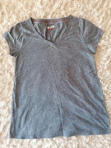 Niebieski T-shirt tommy hilfiger M