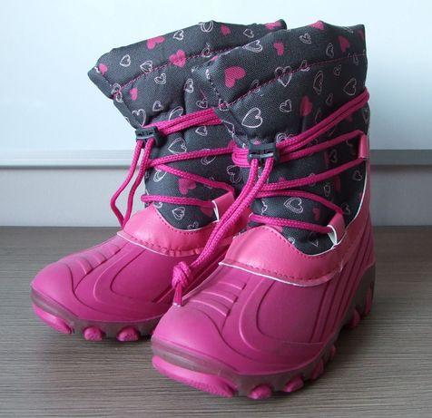 Buty dziecięce zimowe rozmiar 30