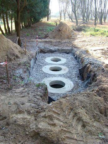 Септик під ключ, каналізація, вигрібна яма, кільця бетонні Екскаватор