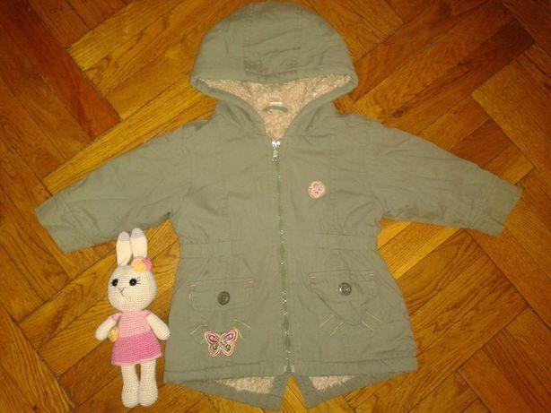 Куртка-парка для дівчинки