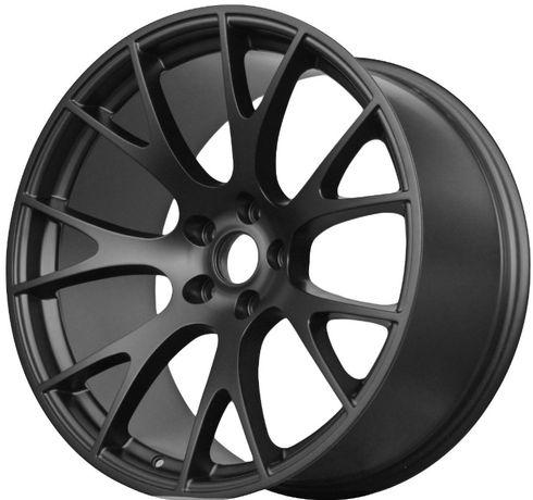 Czarne felgi R22 5x115 Dodge Charger Challenger SRT HELLCA