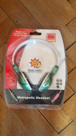 Słuchawki Metropolis SL-8723 Gadu Gadu NOWE
