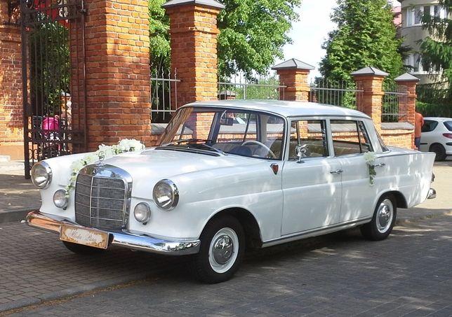 Klasykiem do ślubu i nie tylko !!! Auto Mercedes Skrzydlak RETRO