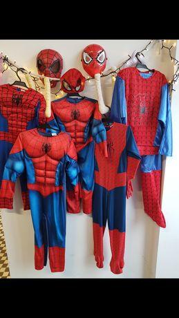 Stroje karnawałowe Spiderman r. 98-140