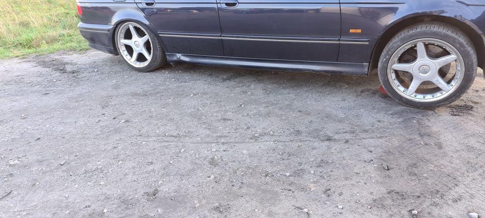 """Felgi Alu MVR 18"""" BMW E39 Szer 10""""Tył 8""""Przód Ładne Opony Ruda Wielka - image 1"""