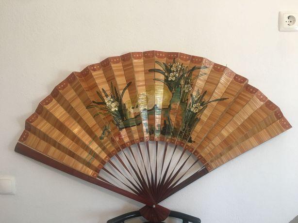 Leque decorativo vintage